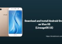 Download and Install Android Oreo on Vivo V5